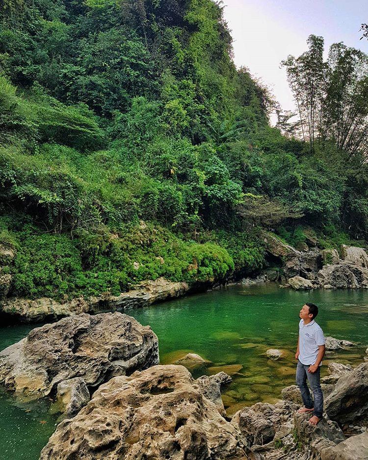 Wisata Air Terjun Sri Gethuk Gunung Kidul, sumber ig dr_valyandra