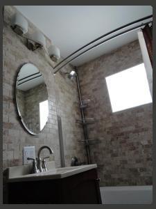 bathroom tile installation project in Minneapolis