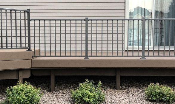 Coon Rapids Maintenance Free Deck