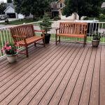 maintenance free deck construction