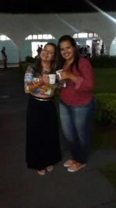 Iasmin Veloso e Camila Coutinho