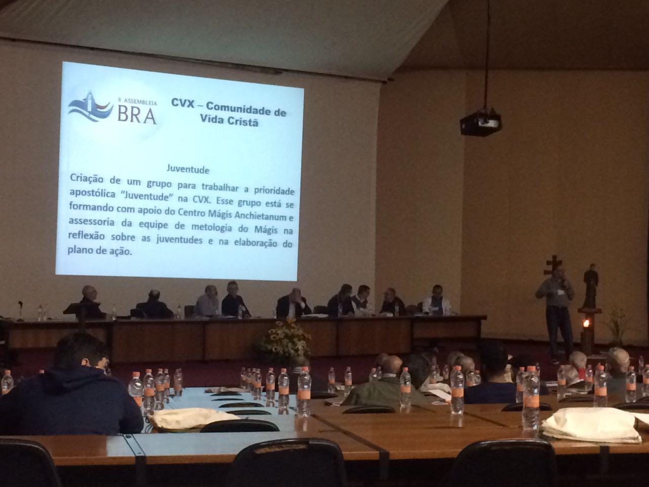 Assistente Nacional apresenta a CVX na 2ª Assembleia da Província dos Jesuítas do Brasil