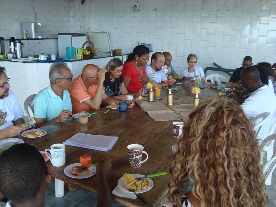Café da manhã com prosa na Regional Bahia