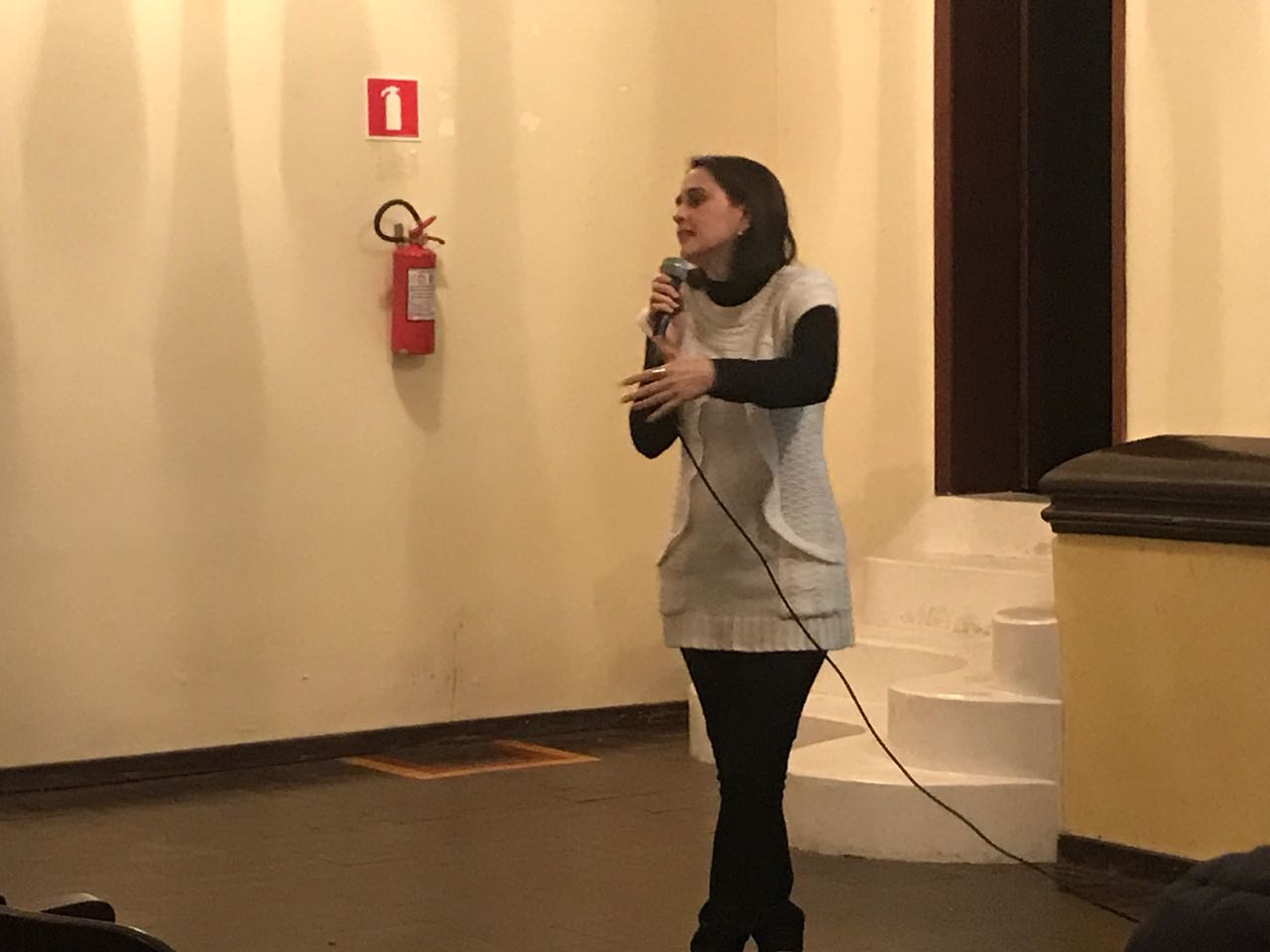 CVX dá palestra na Escola Formação e Vivência do Movimento de Cursilhos, em Curitiba