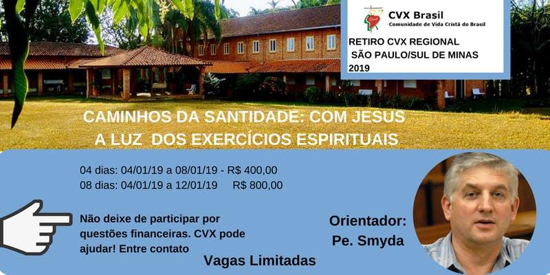 Retiro do Regional São Paulo da CVX Brasil