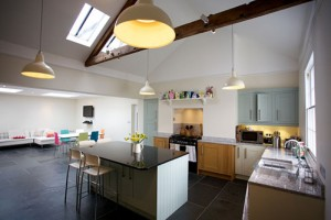 Kitchen design project by cw build ltd
