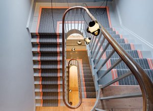 Grade ii listed renovation project spiral staircase