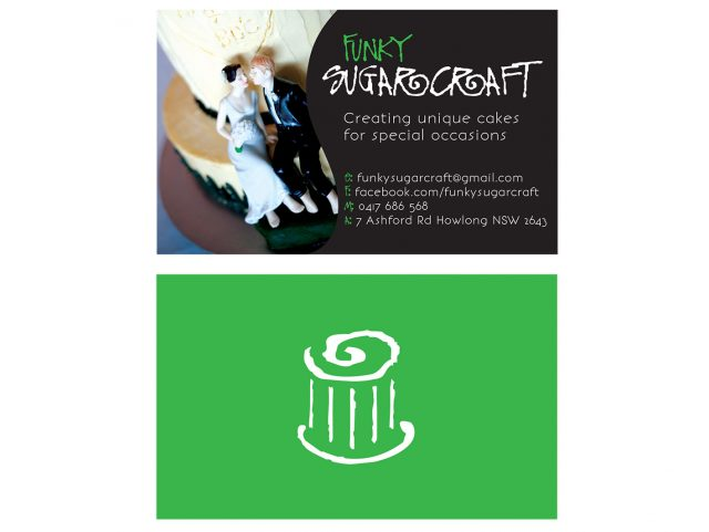 Business Card Design - Funky SugarCraft