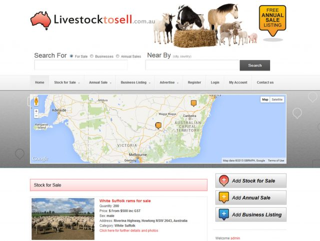 Website Designers Wallan - Livestock to Sell
