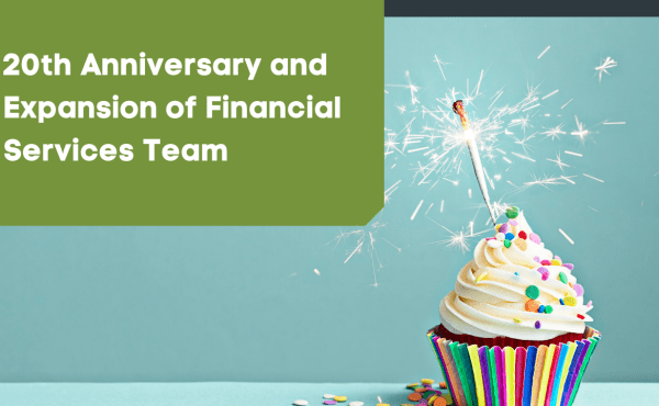 20th anniversary and growing team
