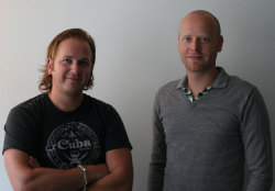 Christofer Sundberg (Pictured Left) and Linus Blomberg (Pictured Right) - the Directors for Just Cause