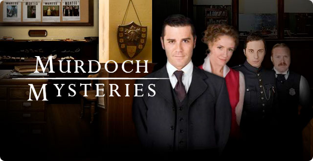 Image result for murdoch mysteries