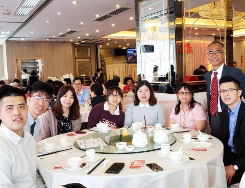 CW company luncheon (開年飯)