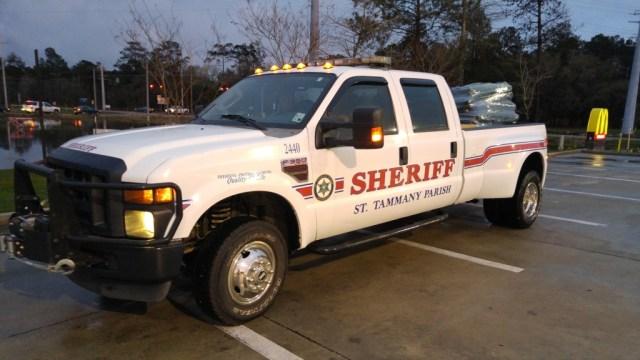 Sheriff Dept F350 Dually