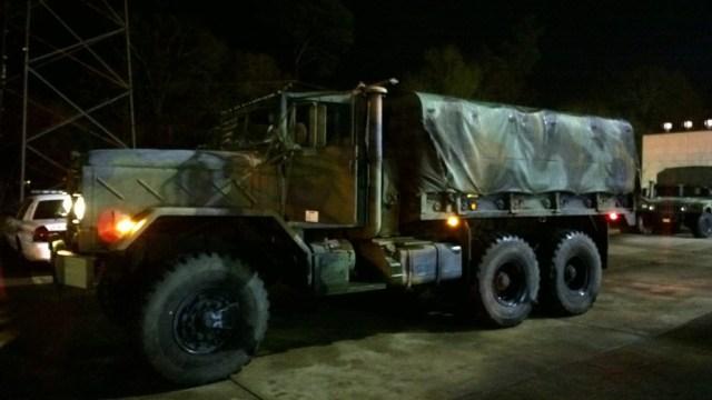 Sheriff Dept High Water Vehicle