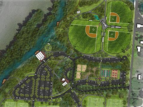 Preliminary park plan