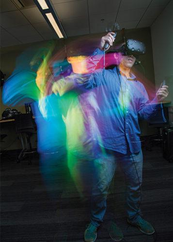 VR Headset Tech in Classroom
