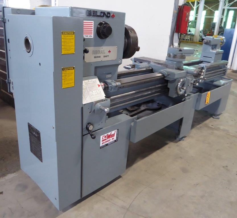 LEBLOND REGAL ENGINE LATHE - 30029