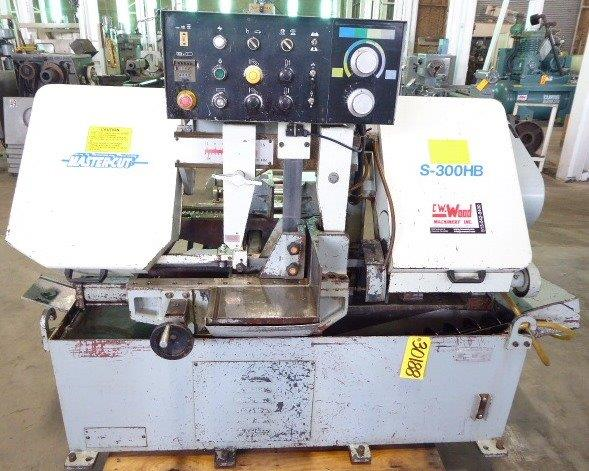 MASTER CUT AUTOMATIC FEED HORIZONTAL BAND SAW - 3018