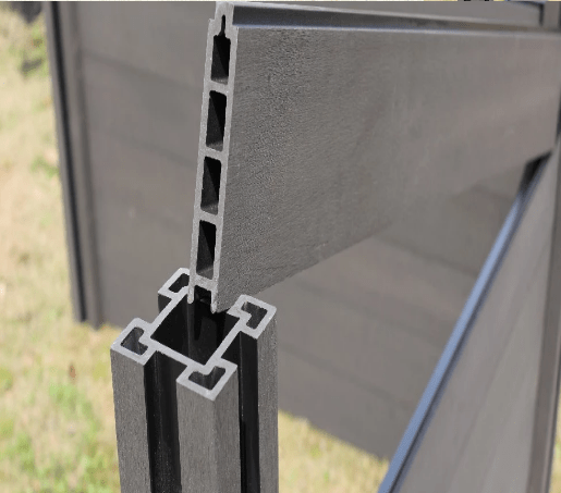 China Wpc Plastic Composite Fence Panels Wood Plastic