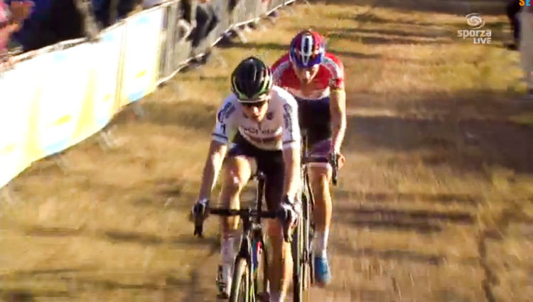 wout van aert deliver another nail biter