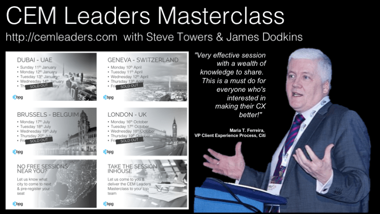 CEM Leaders Masterclass | London | Dubai | Brussels | Geneva