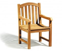 wooden outdoor chairs garden patio