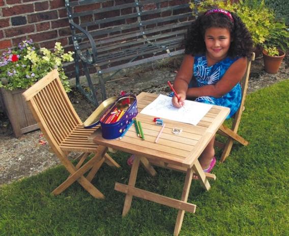 children s wooden table ashdown chairs set kids garden furniture