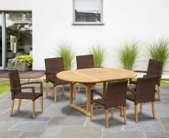 cyan teak garden furniture sale