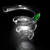 das 3D Murmelbahn Bild