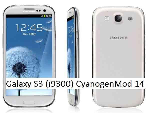Galaxy S3 CM14 (CyanogenMod 14, Nougat ROM) (i9300)