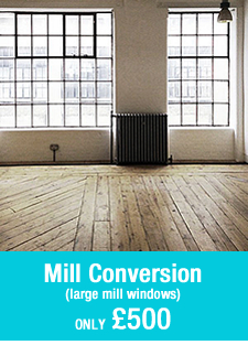 pre-built room set Mill Conversion