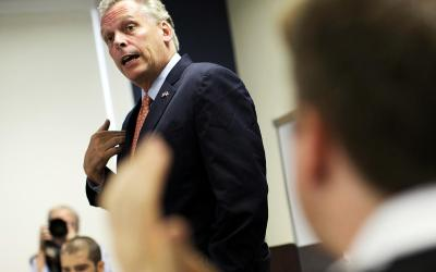 Episode 13: Virginia Gov. McAuliffe leads states efforts to meet the threat of cyber attacks