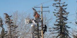installing telecoms