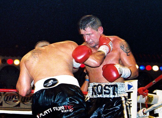 Kenny Kost in a previous fight