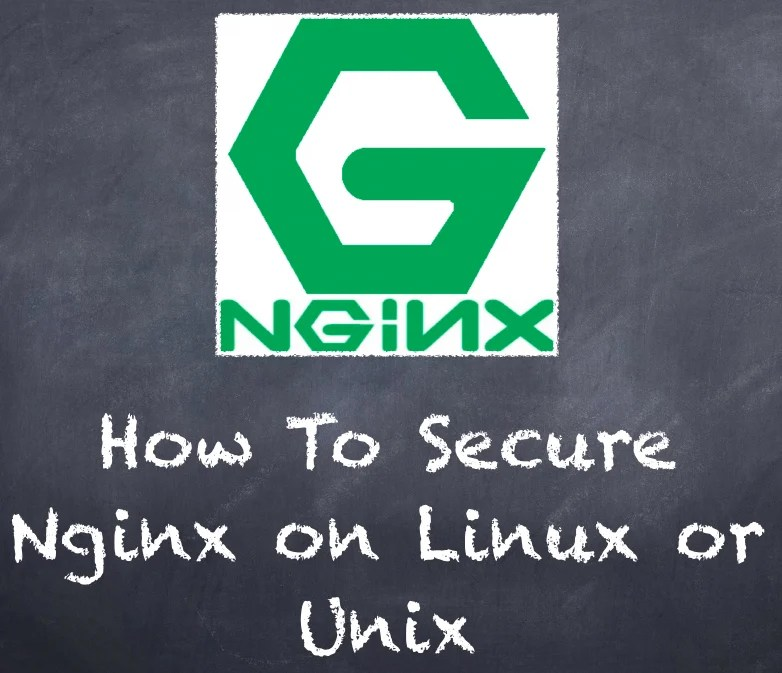 How To Secure Nginx on Linux or Unix