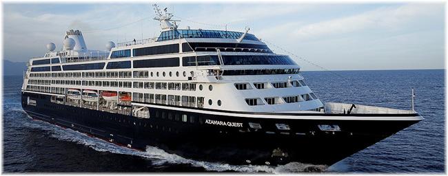 The Azamara Quest (Courtesy Azamara Club Cruises)