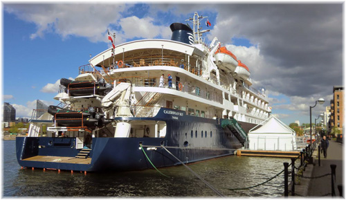 Noble Caledonia Ltd proudly showed off its newly-acquired 114-berth small ship Caledonian Sky to the public and the trade in May 2012 in London's Docklands