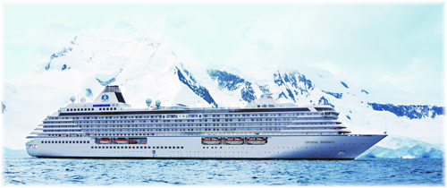 Crystal Serenity (Photo courtesy of Crystal Cruises)