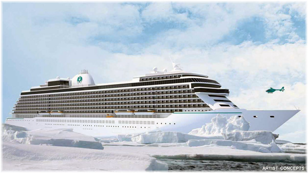The Crystal Exclusive (Artist concepts courtesy of Crystal Cruises)