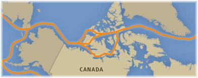 The Northwest Passage (Courtesy of Canadian Braodcasting Corporation)