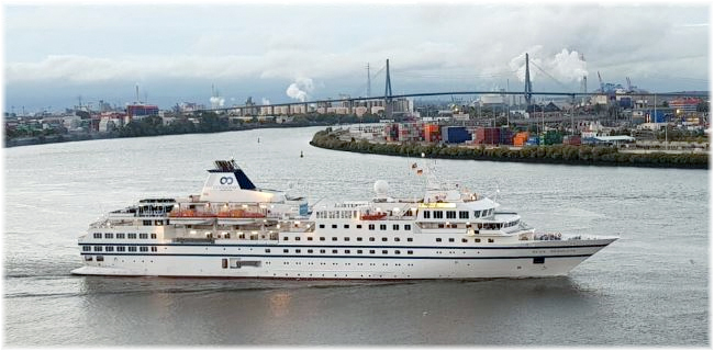 Culture cruises first booking was a Northwest Passage transit with One Ocean Expeditions (The 146-berth RCGS Resolute)