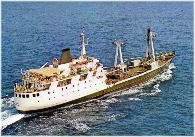 The original Canadian built St Helena