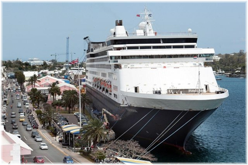 Holland America Line Returns To Front Street In This Time - Cruises to bermuda from boston