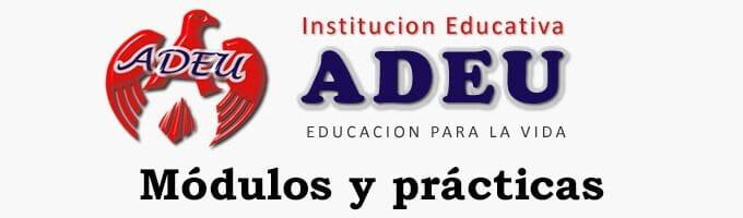 Módulos y prácticas ADEU