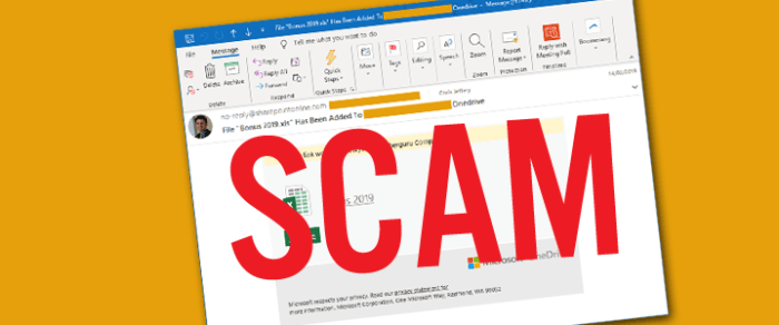 Don't be an April Fool – Watch out for business email compromise!
