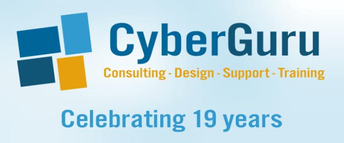 CyberGuru celebrating 19 years