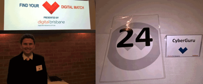 Digital Brisbane Speed Networking Event 2016