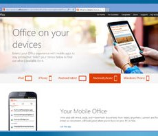 Get Microsoft Office free on your mobile or tablet