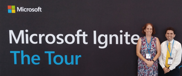 CyberGuru attends Microsoft Ignite | The Tour in Sydney